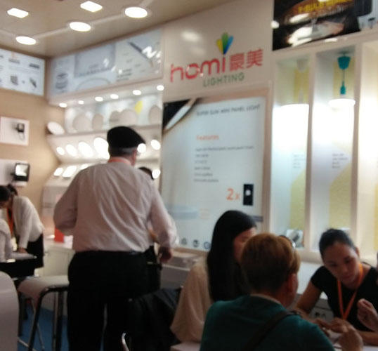 Homi Achieved Great Success with HK Lighting Fair Autumn Version 2016
